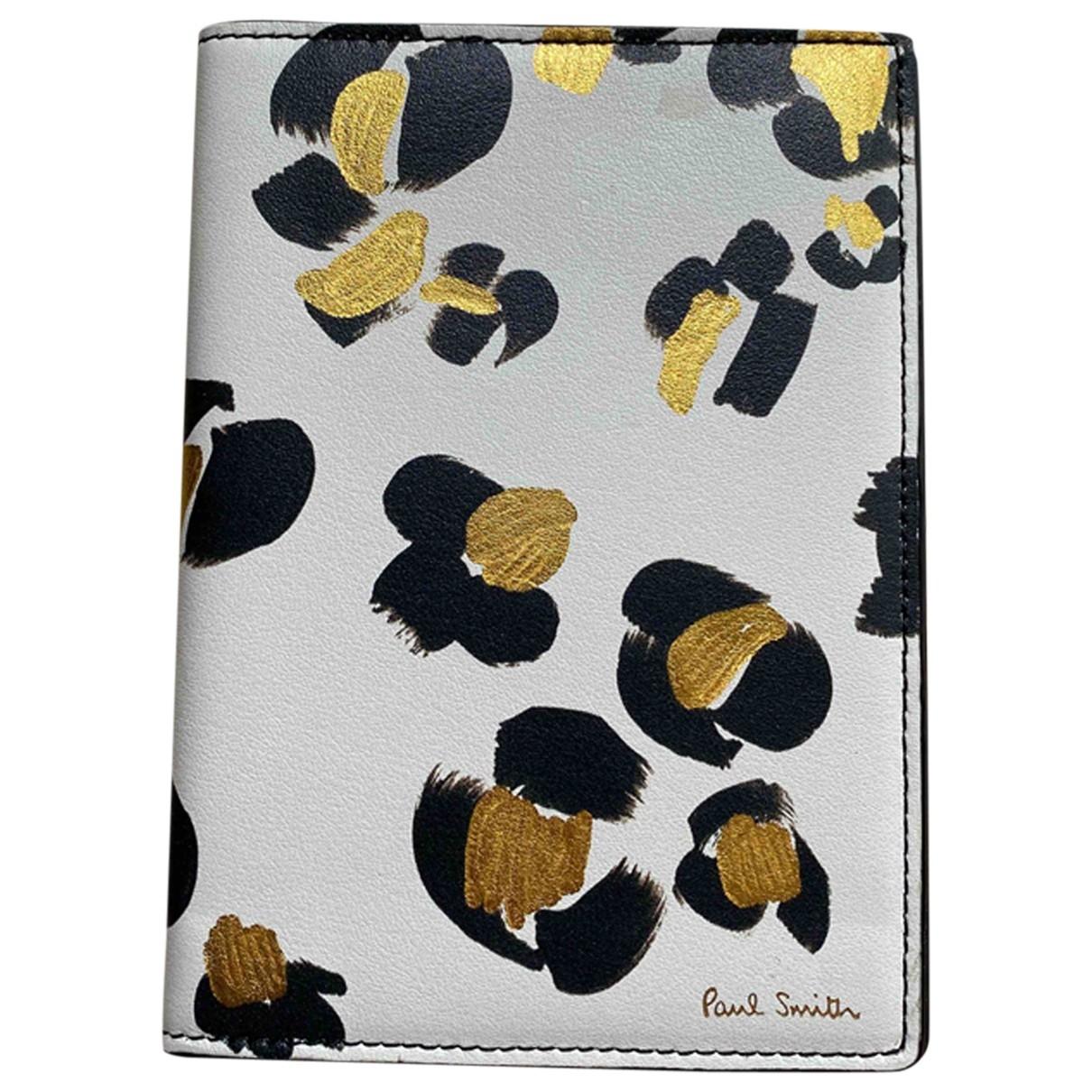 Paul Smith - Petite maroquinerie   pour femme en cuir - blanc