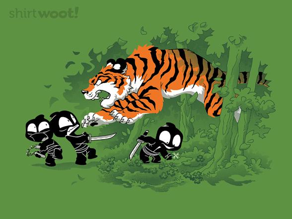 Luckiest Ninja T Shirt