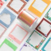 1roll Frame Design Random Decorative Tape