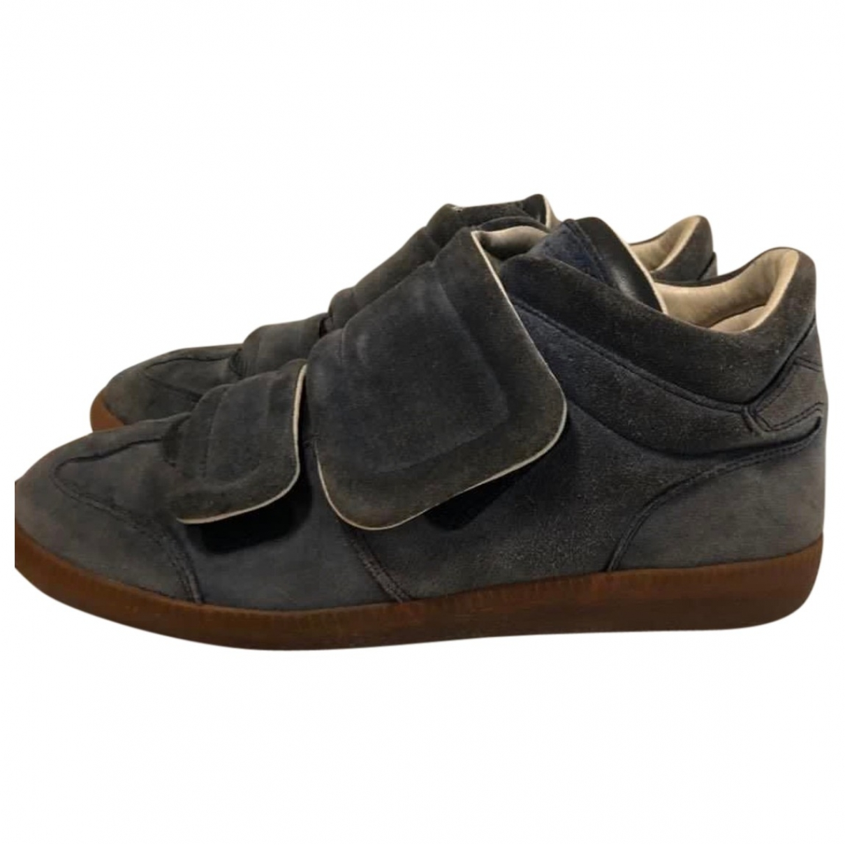 Maison Martin Margiela Future Grey Suede Trainers for Men 41 EU