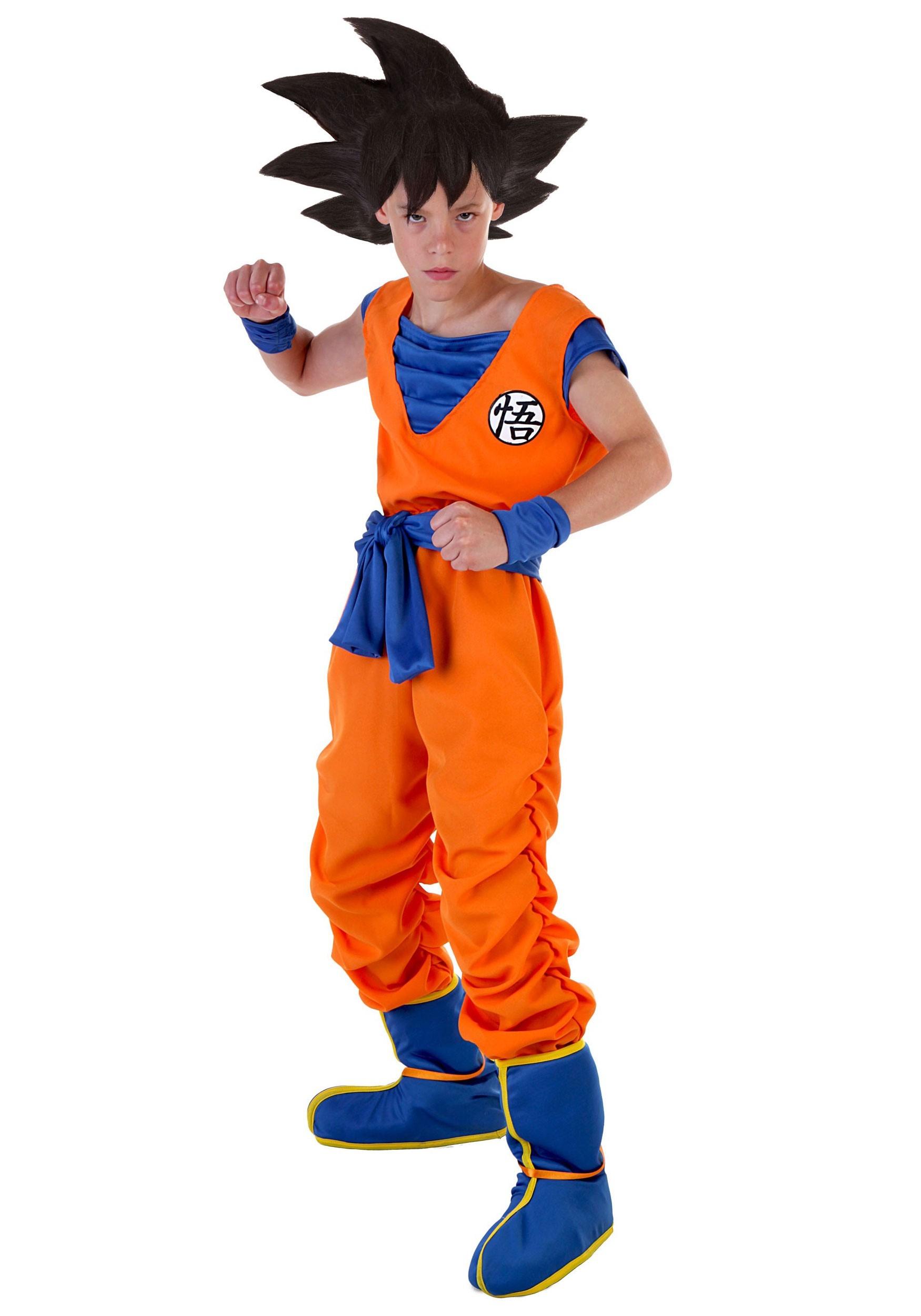 DBZ Kid's Goku Costume