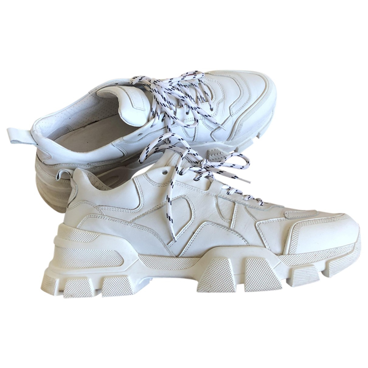 Kennel Und Schmenger \N Sneakers in  Weiss Leder