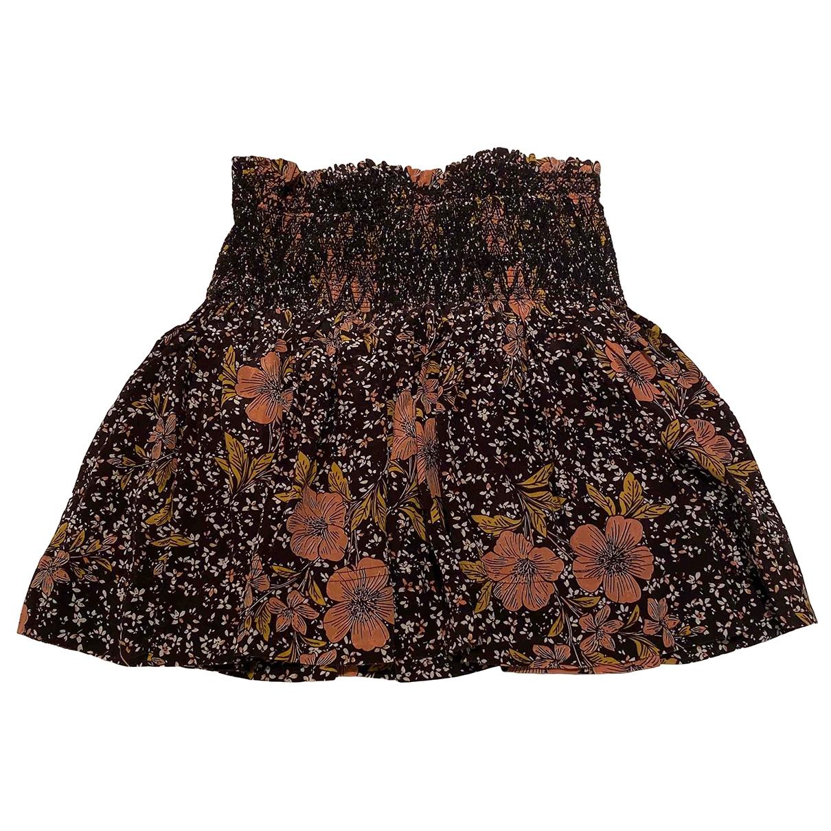 Zadig & Voltaire - Jupe   pour femme en soie - multicolore