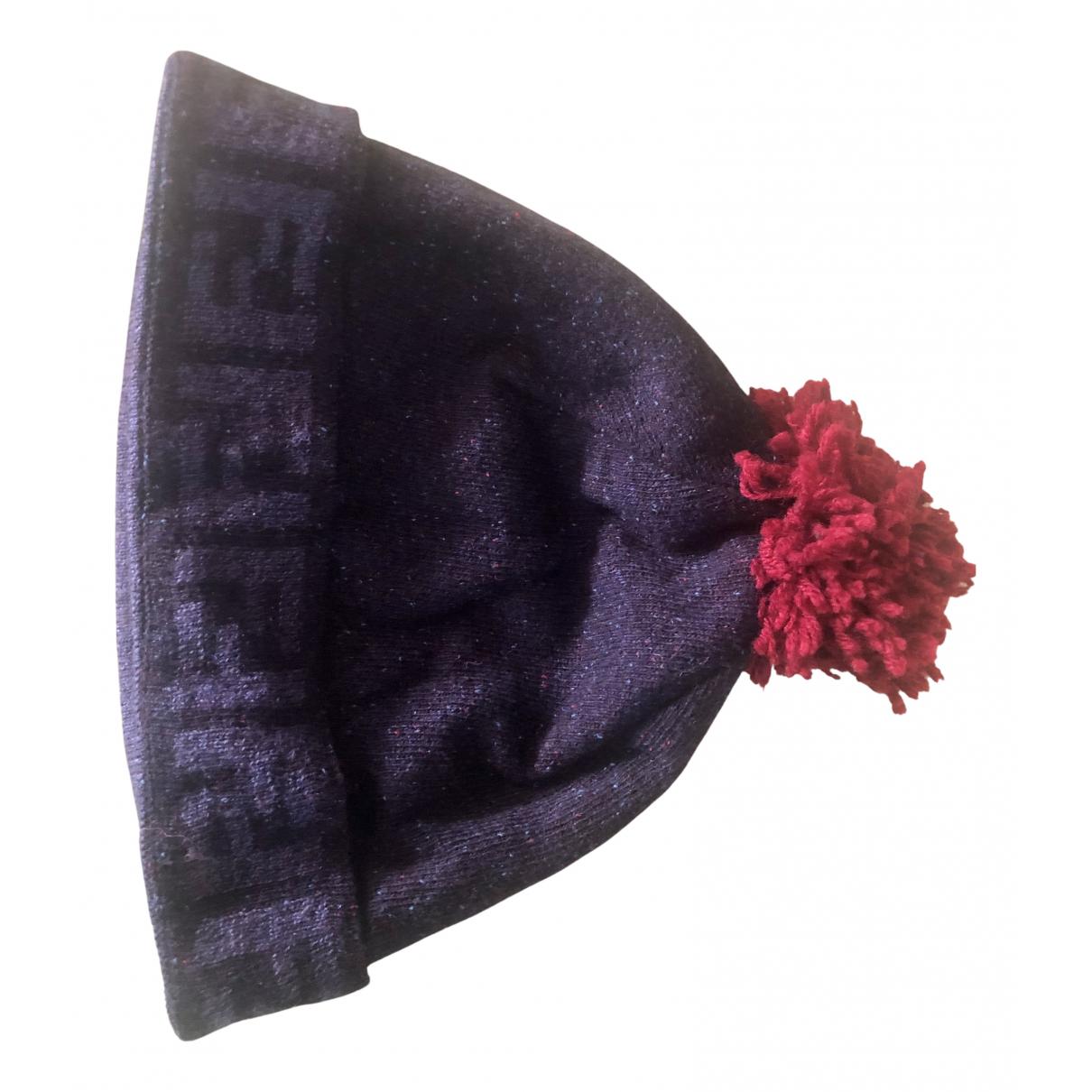 Fendi - Chapeau & Bonnets   pour homme en laine - bleu