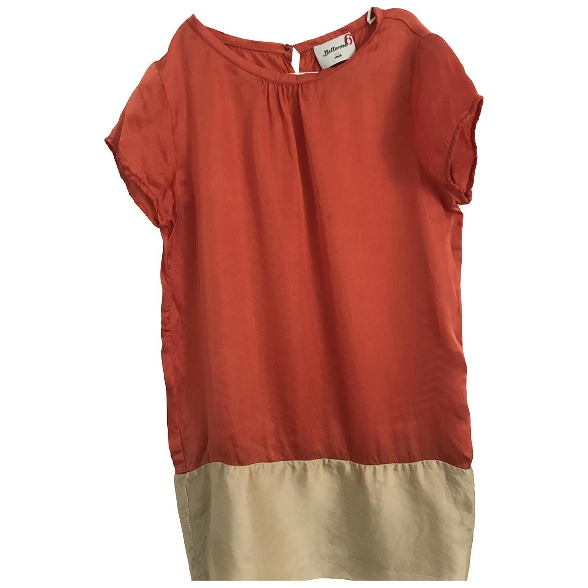 Bellerose \N Kleid in  Rot Viskose