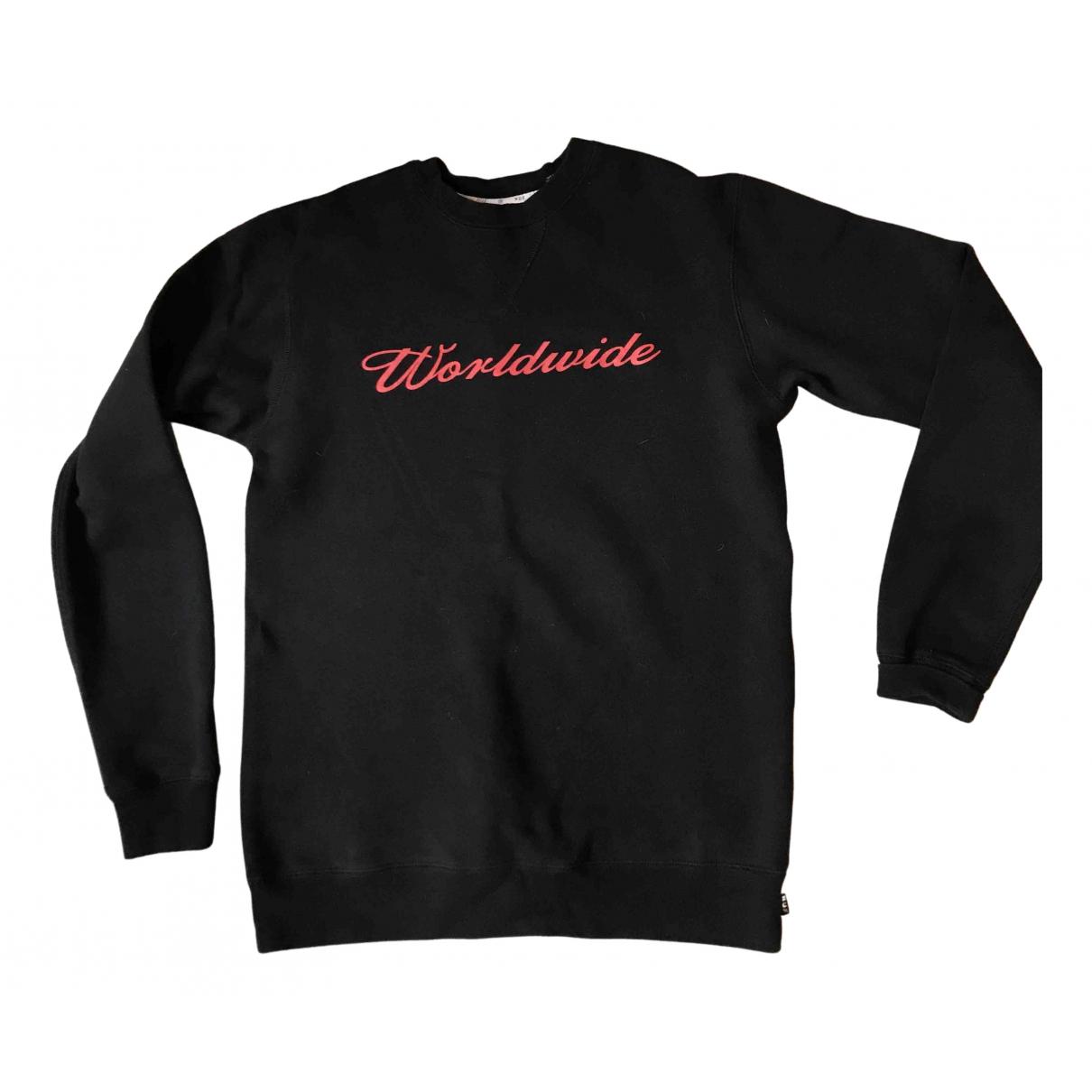 Huf \N Pullover.Westen.Sweatshirts  in  Schwarz Baumwolle
