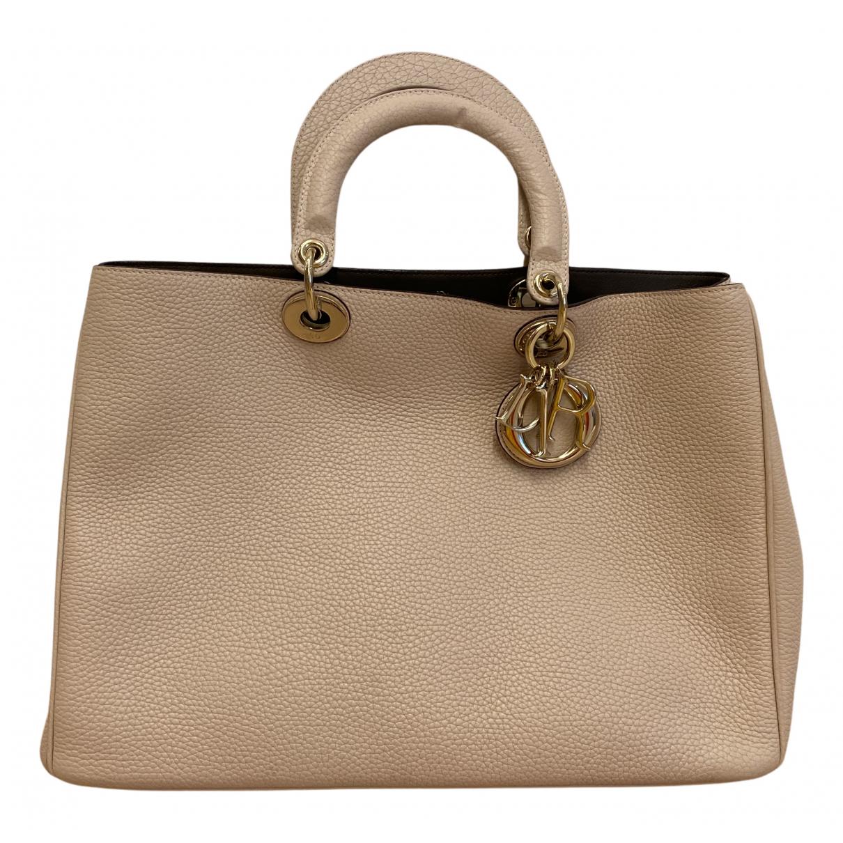Dior Diorissimo Pink Leather handbag for Women N