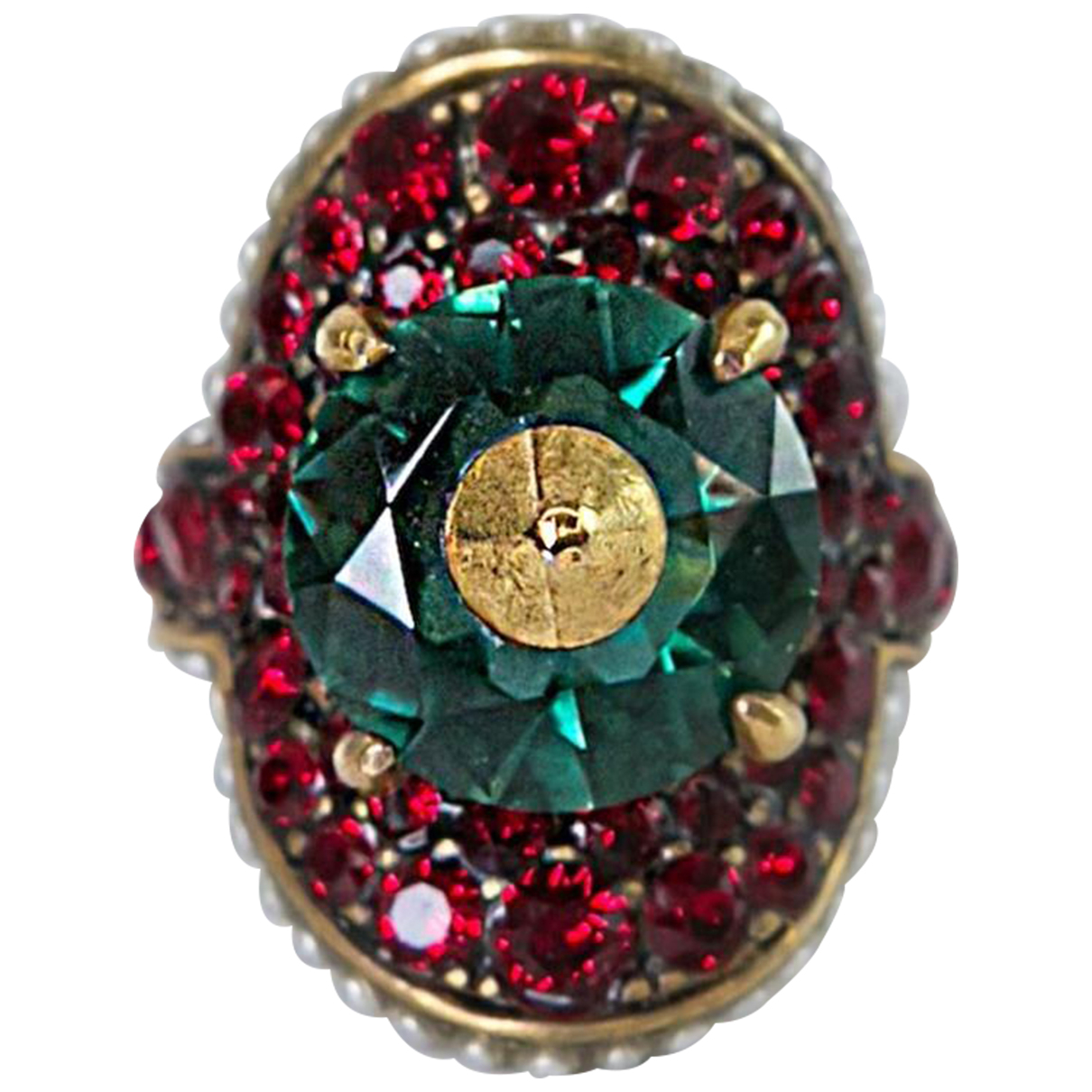 Gucci N Red Metal ring for Women 50 MM