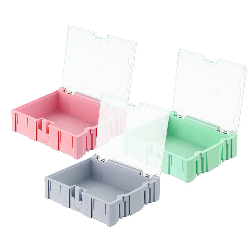 NO.3 Small Splicable Tool Box Screw Object Electronic Project Component Parts Storage Box Case SMT SMD Pops Up Patch Con
