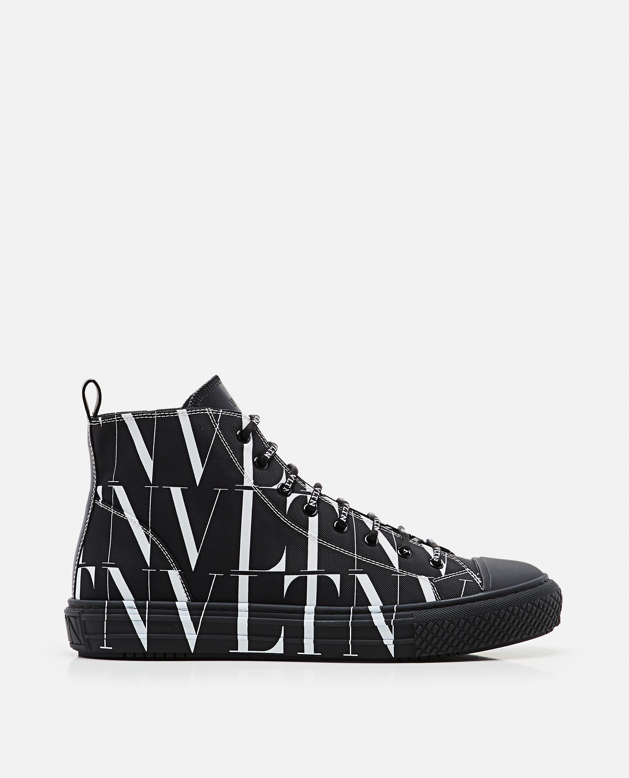 VLTN high black sneaker