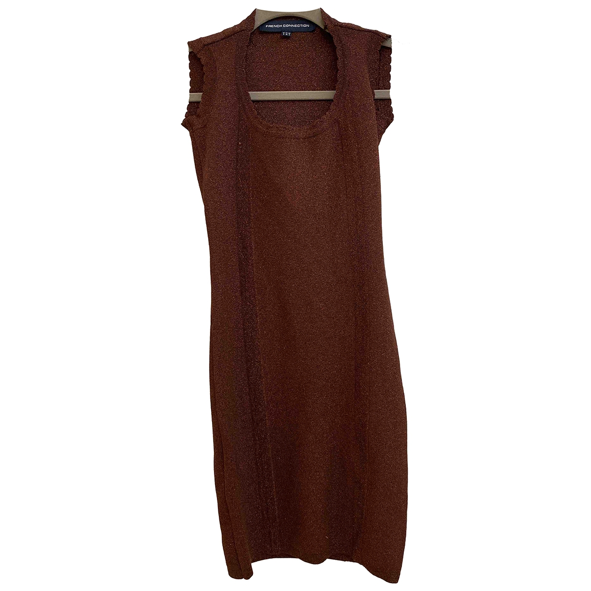 French Connection \N Burgundy dress for Women 8 UK