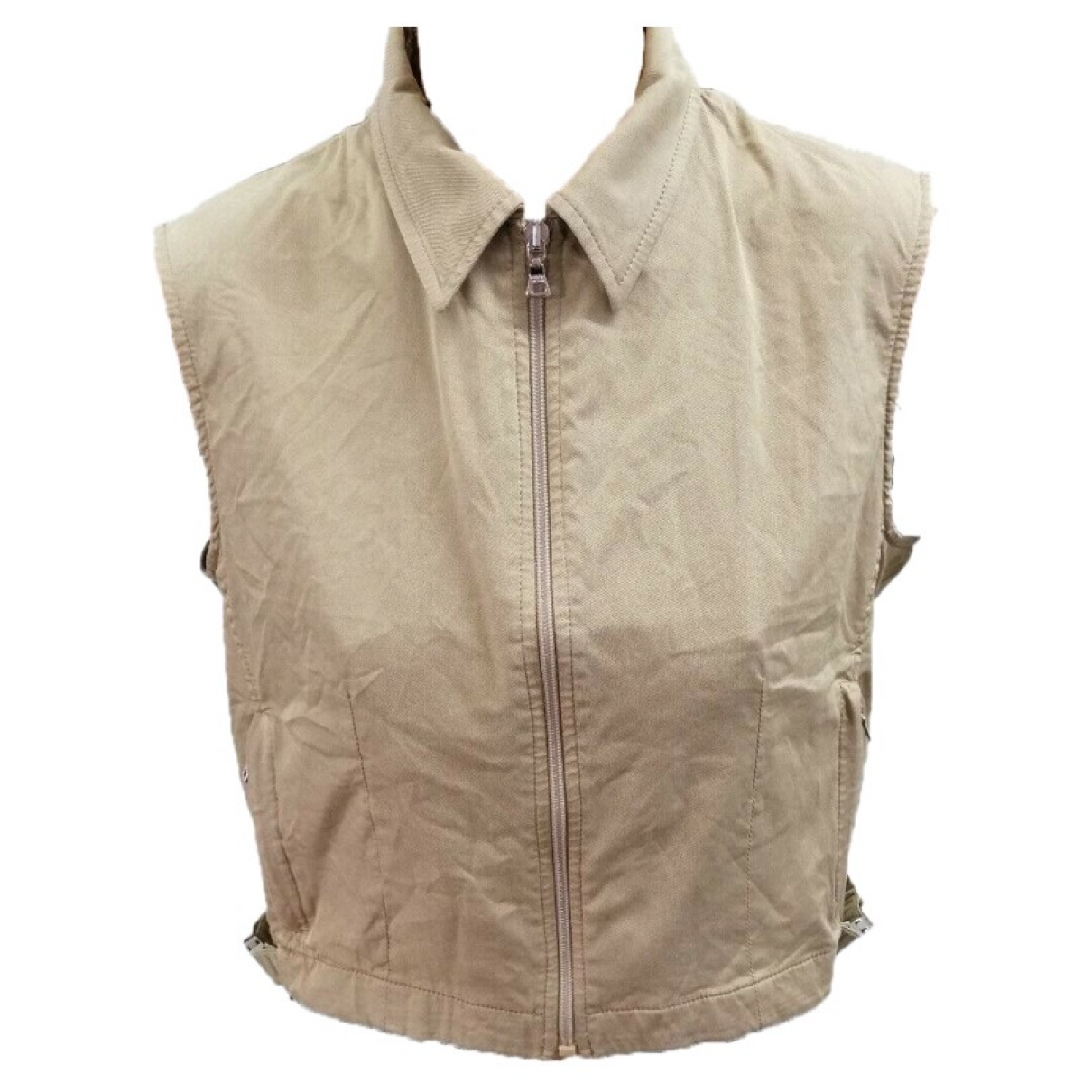 Prada \N Top in  Beige Baumwolle