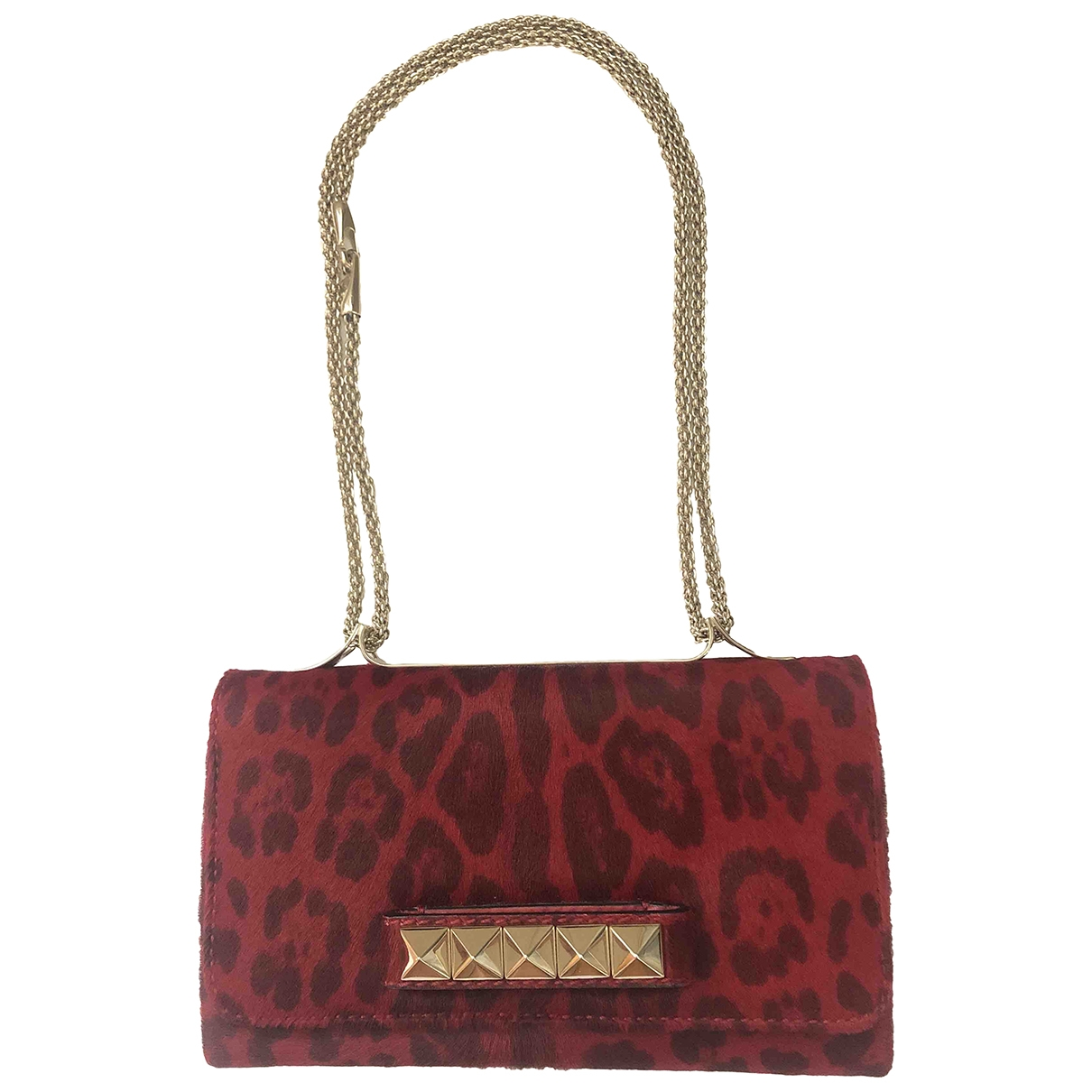 Valentino Garavani Vavavoom Red Pony-style calfskin handbag for Women \N