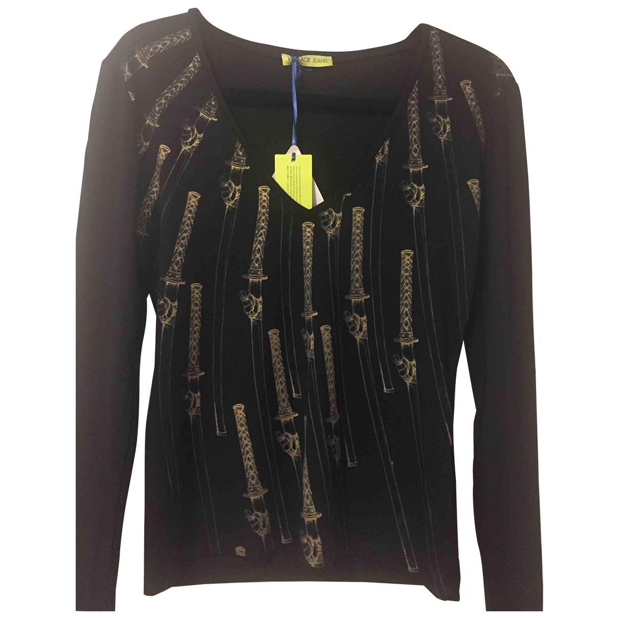 Versace Jeans \N Top in  Schwarz Viskose