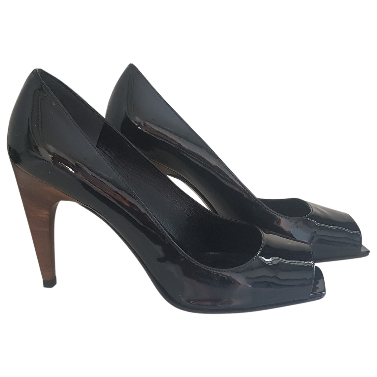 Stuart Weitzman \N Black Patent leather Heels for Women 37.5 EU