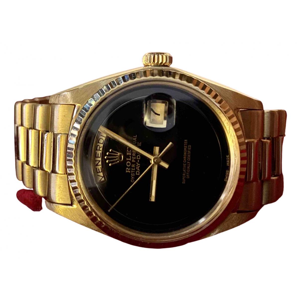Rolex Day-Date 36mm Uhr in Gelbgold