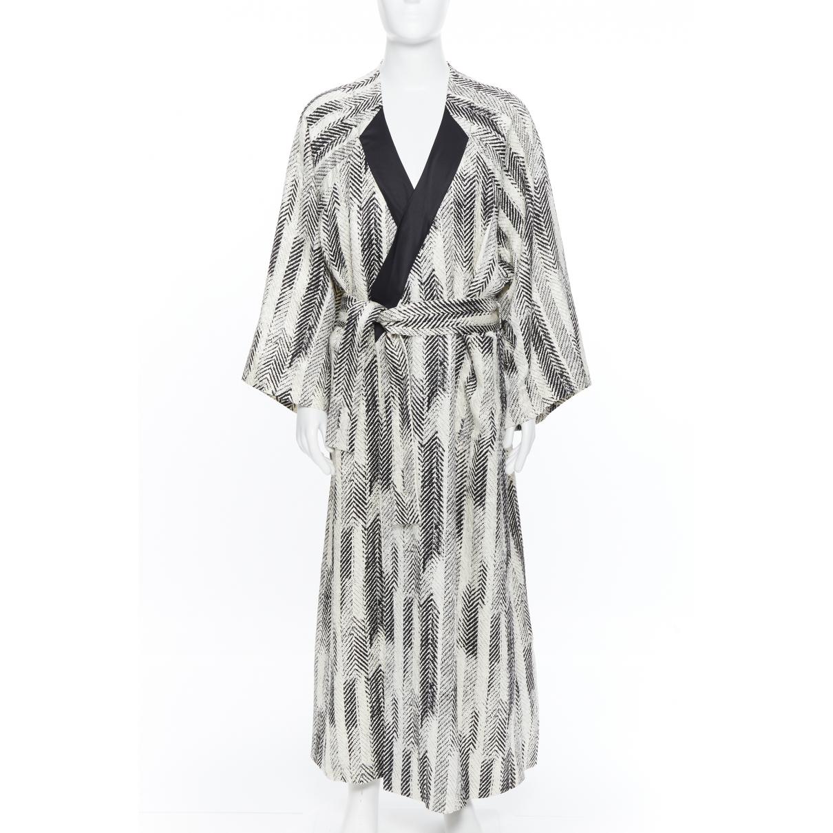 La Perla - Robe   pour femme en soie - blanc