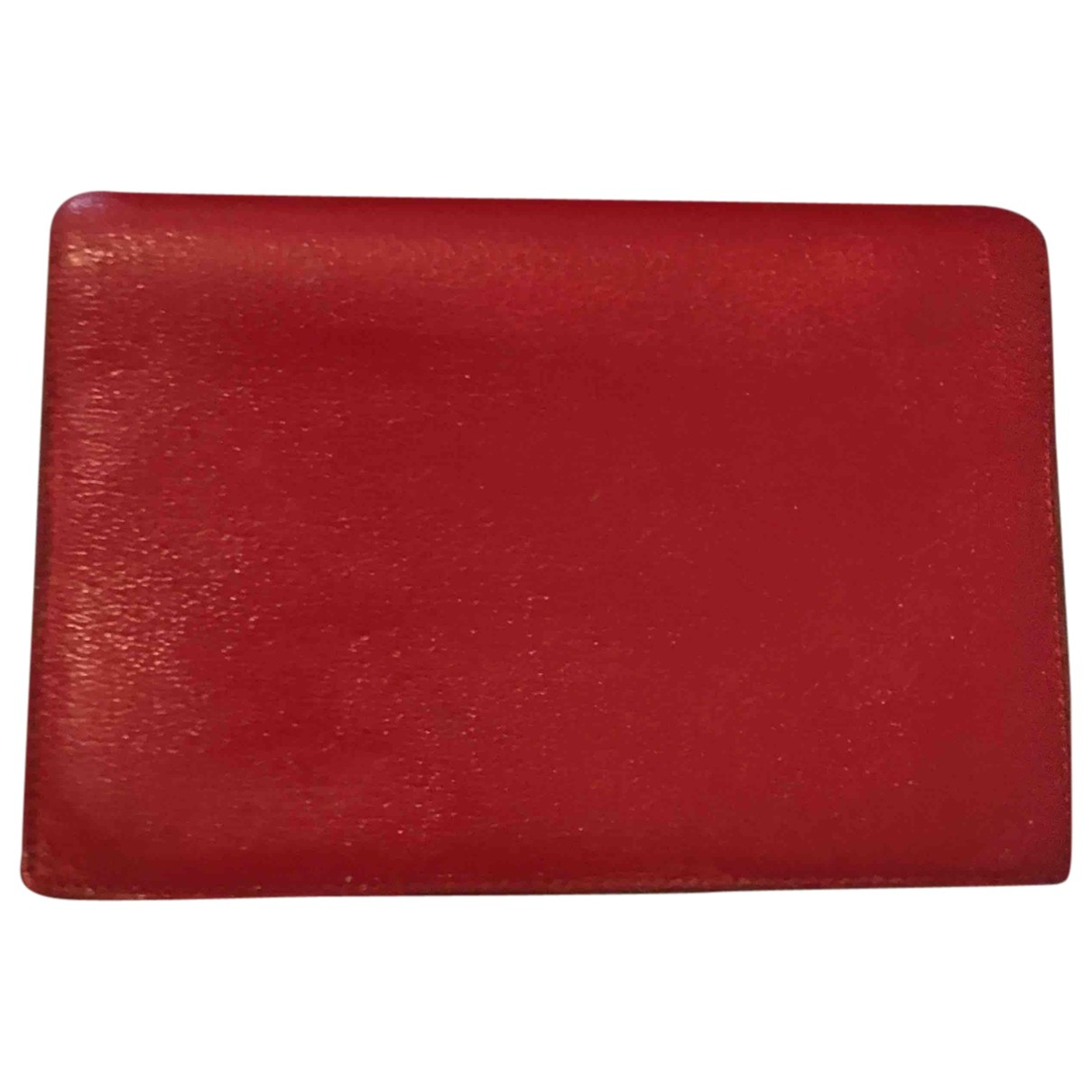 Hermès N Red Leather Purses, wallet & cases for Women N