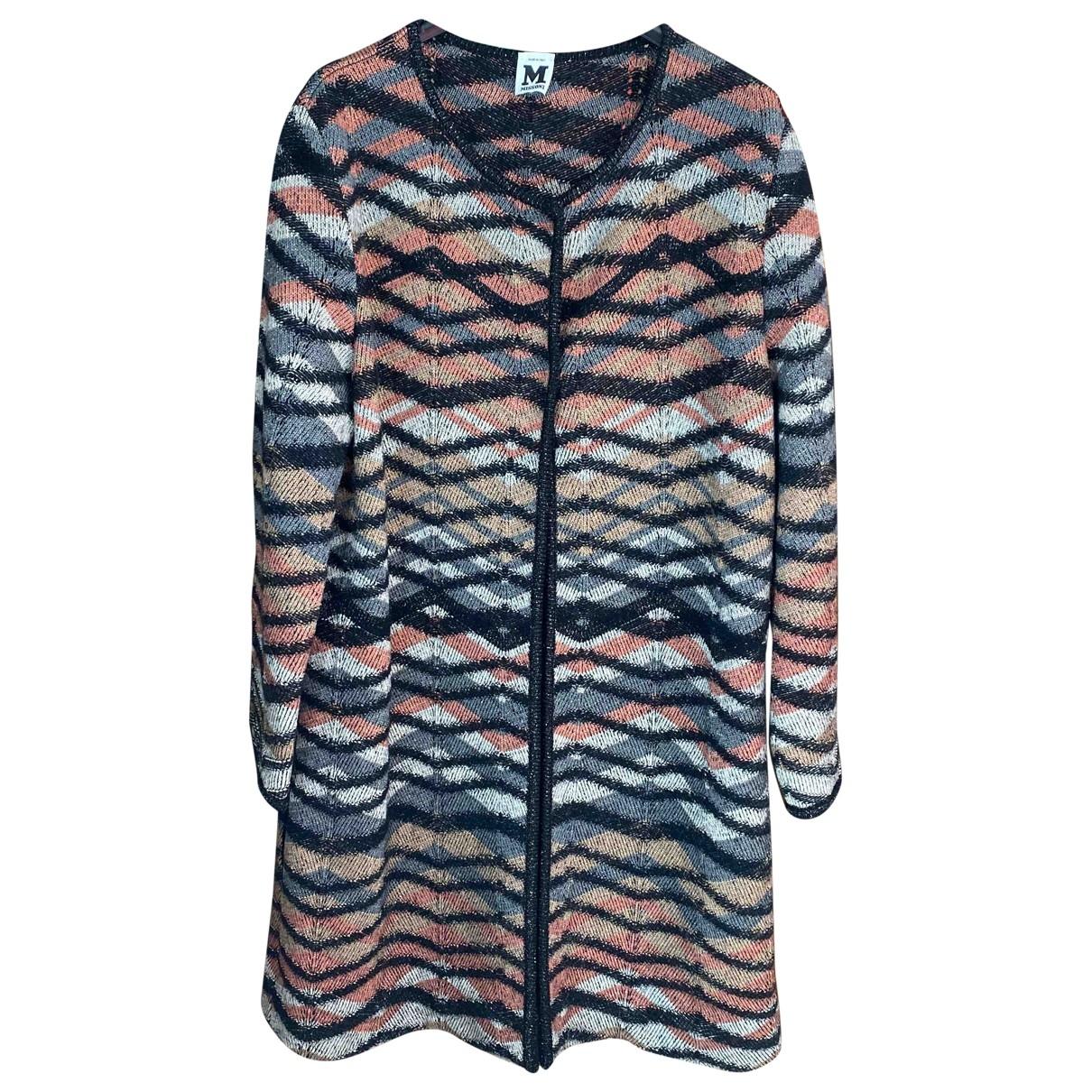 M Missoni - Manteau   pour femme en laine - multicolore