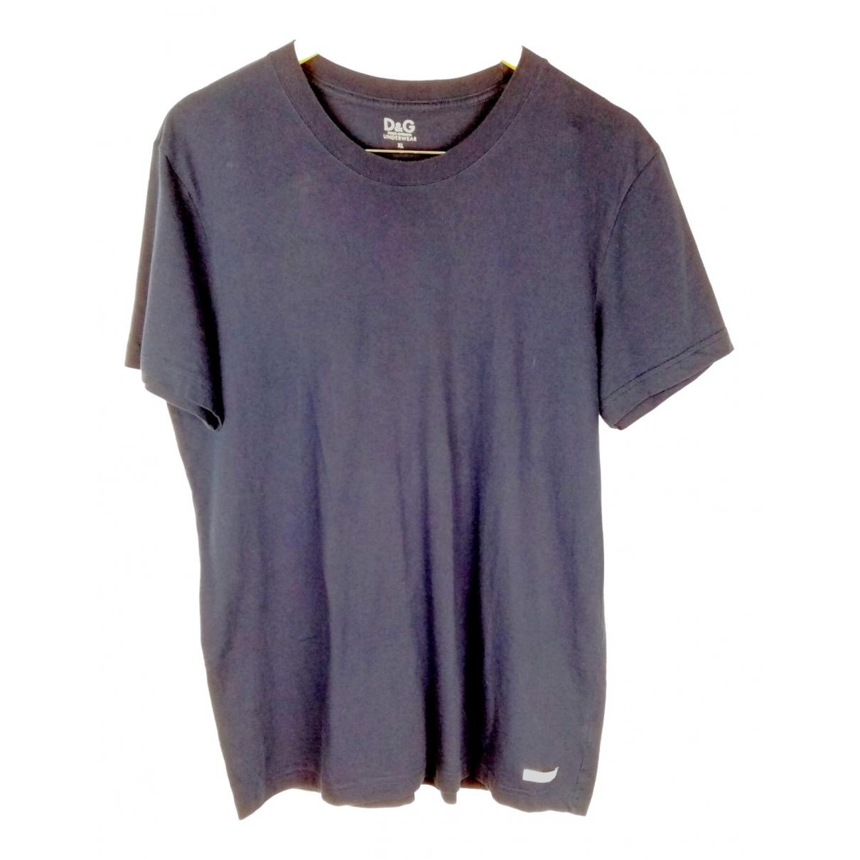 D&g \N Navy Cotton T-shirts for Men XL International