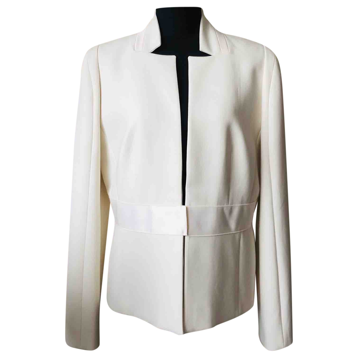 Amanda Wakeley \N Ecru jacket for Women 16 UK