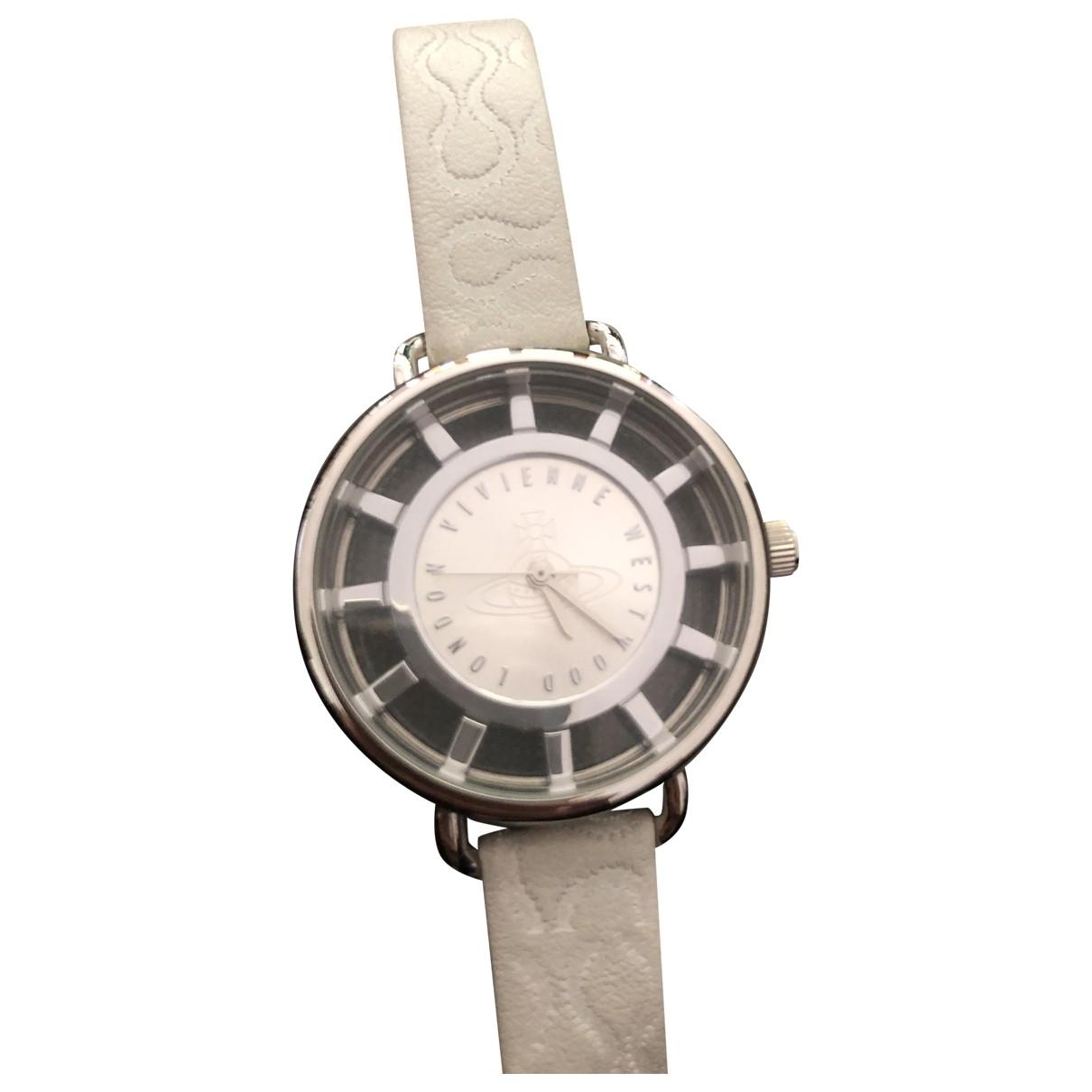 Vivienne Westwood \N Uhr in  Grau Stahl