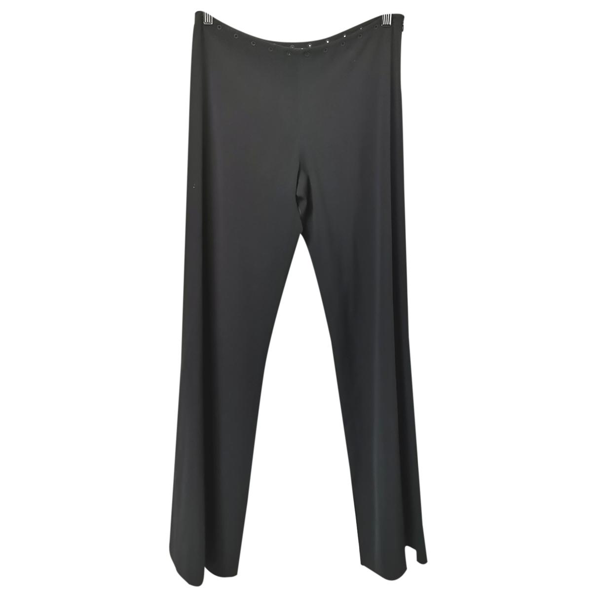 Pantalon largo de Lana Jean Paul Gaultier