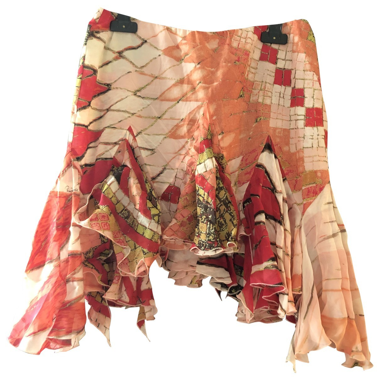 Roberto Cavalli N Pink Silk skirt for Women M International