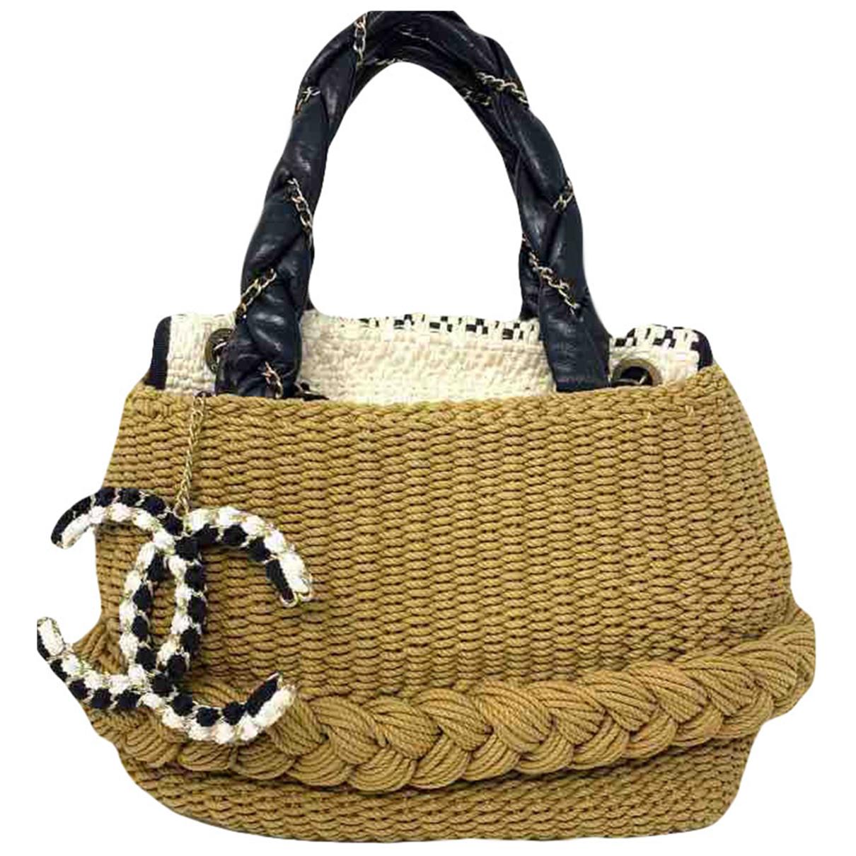 Chanel \N Beige Cotton handbag for Women \N