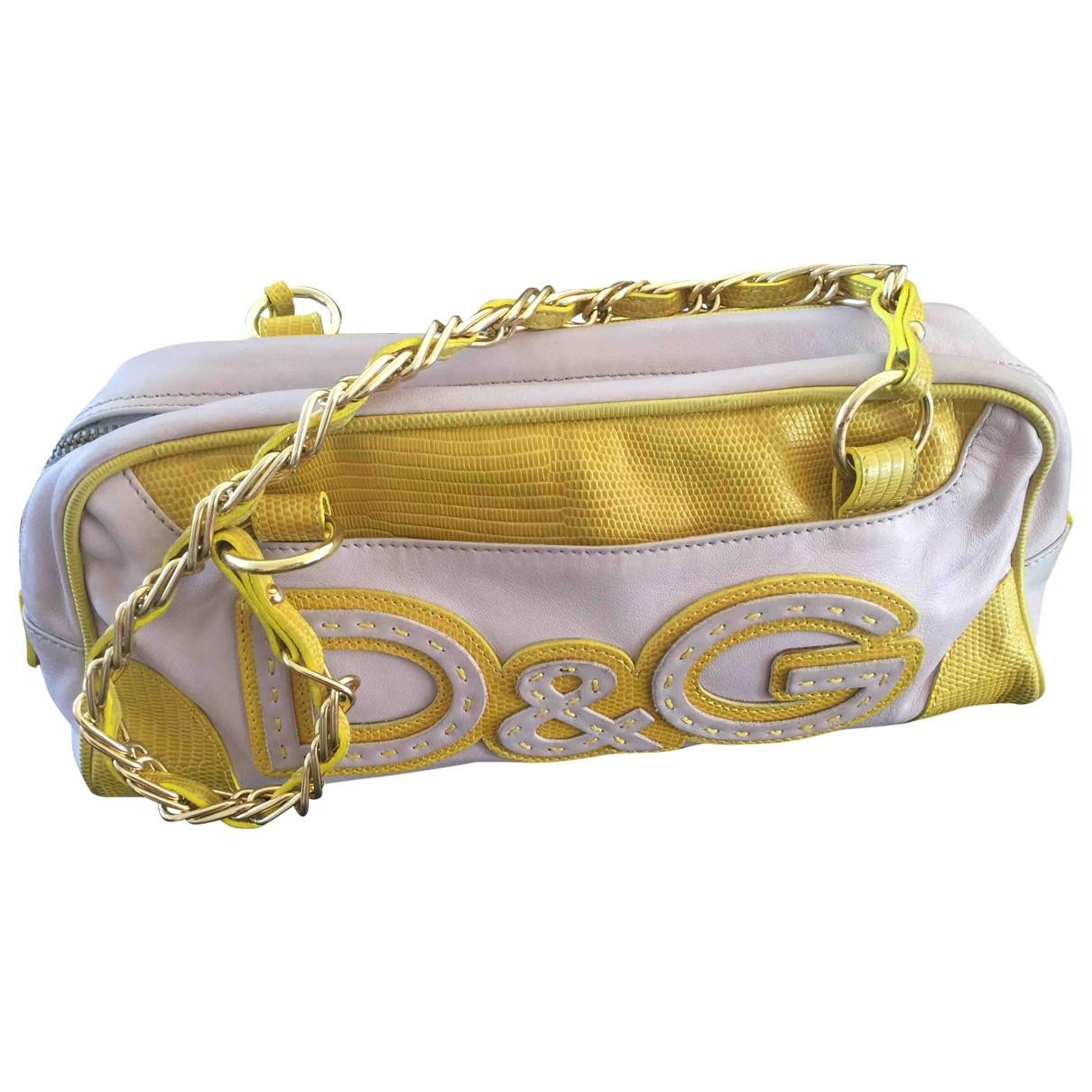 D&g \N Handtasche in Leder