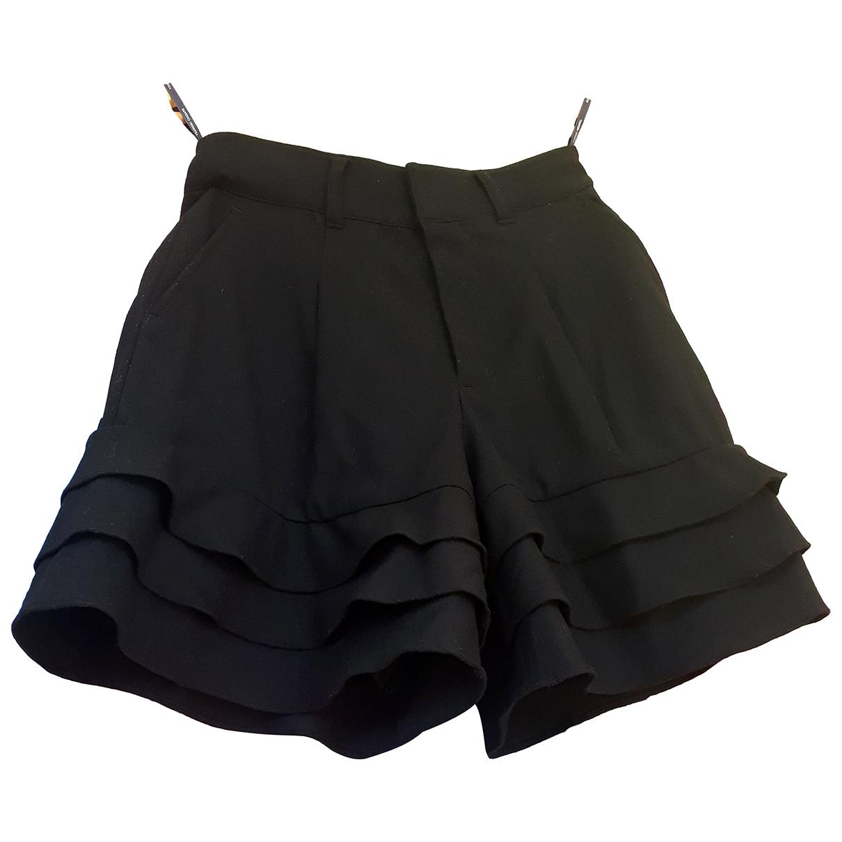 Tsumori Chisato \N Shorts in  Schwarz Wolle