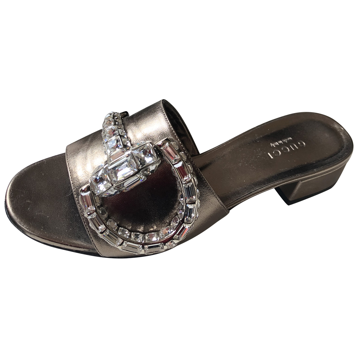 Gucci \N Brown Leather Sandals for Women 36 EU