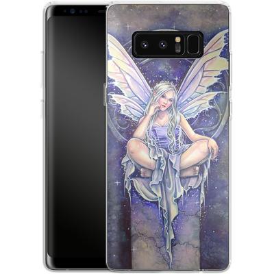 Samsung Galaxy Note 8 Silikon Handyhuelle - Shimmer von Selina Fenech