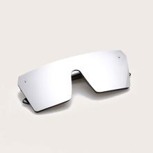 Maenner Jungen Sonnenbrille mit flacher Oberteil