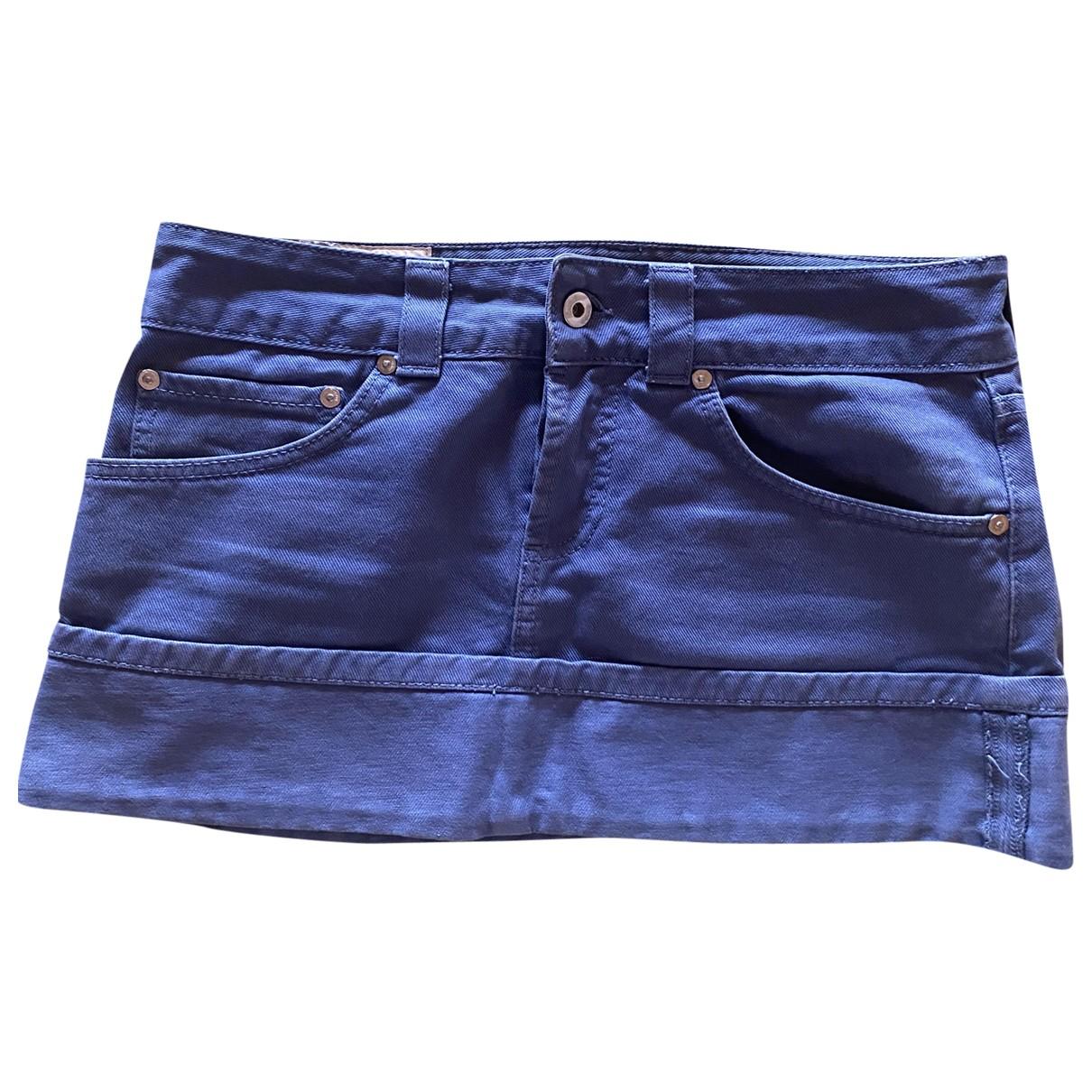 Dondup - Jupe   pour femme en denim - bleu