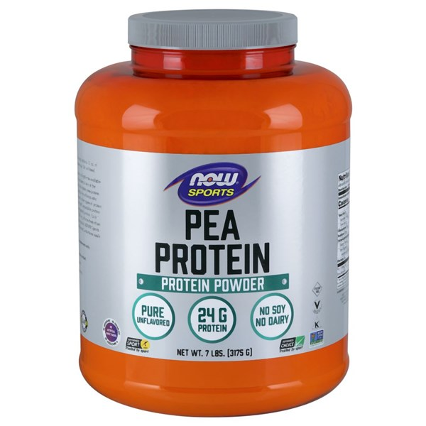 Pea Protein 7 lbs by Now Foods