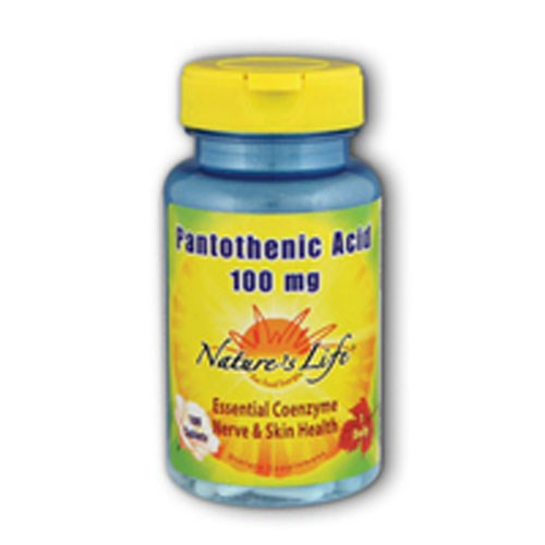 Pantothenic Acid 100 tabs by Nature's Life