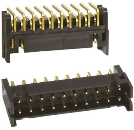 Hirose , DF11, 20 Way, 2 Row, Right Angle PCB Header