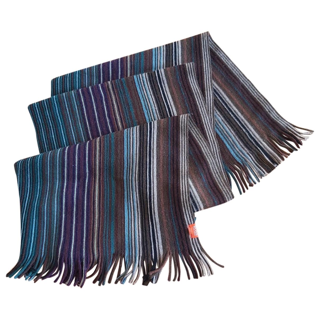 Boss - Cheches.Echarpes   pour homme en laine - multicolore