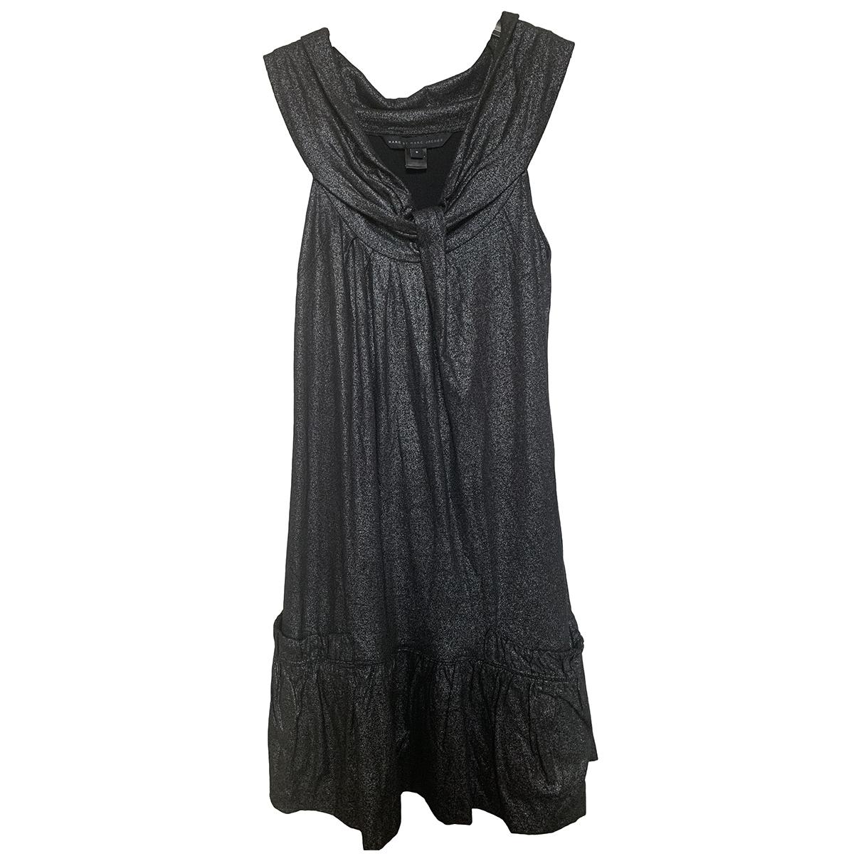 Marc By Marc Jacobs - Robe   pour femme en coton - elasthane - noir