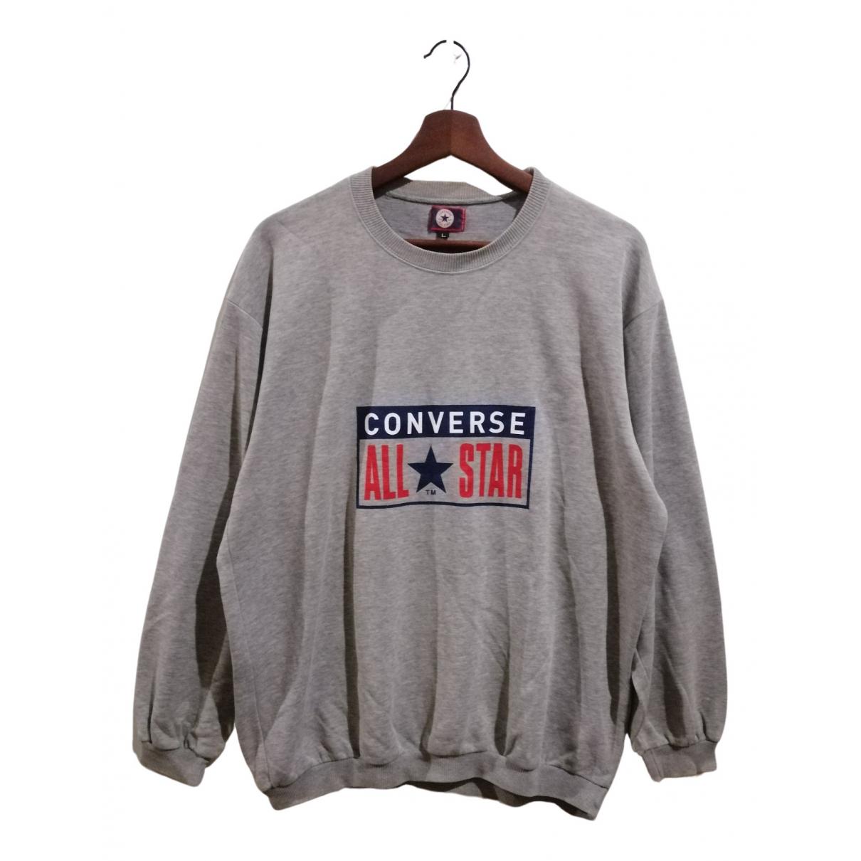 Converse \N Pullover.Westen.Sweatshirts  in  Grau Wolle