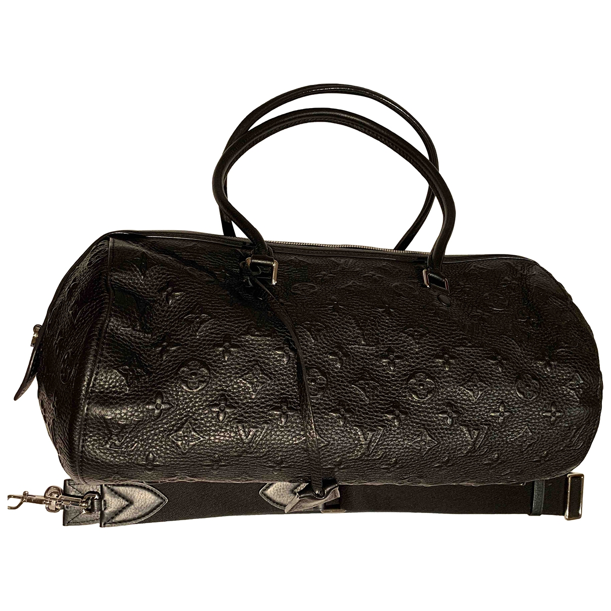 Louis Vuitton Papillon Handtasche in  Schwarz Leder