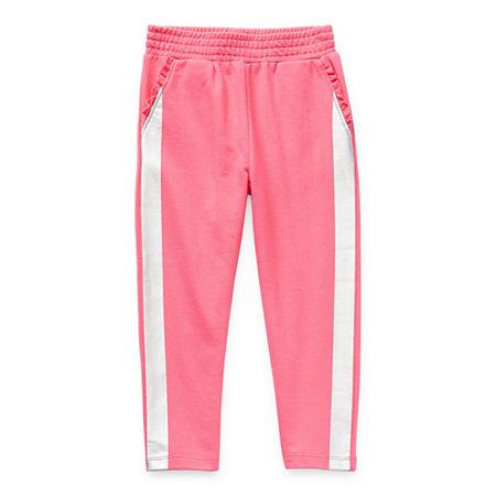 Okie Dokie Toddler Girls Straight Jogger Pant, 3t , Pink