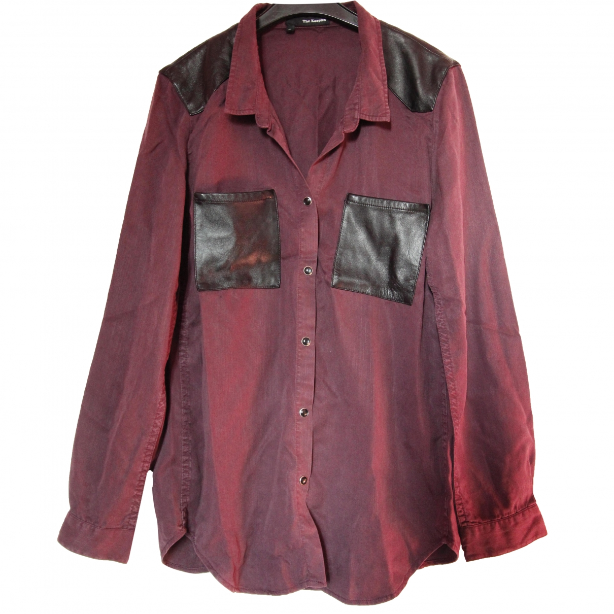 The Kooples \N Purple Cotton  top for Women M International