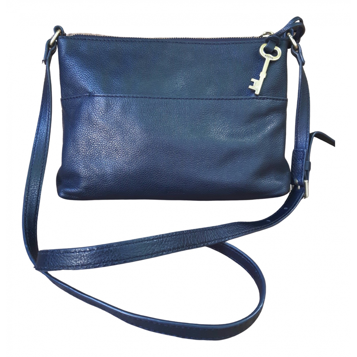 Fossil \N Black Leather handbag for Women \N