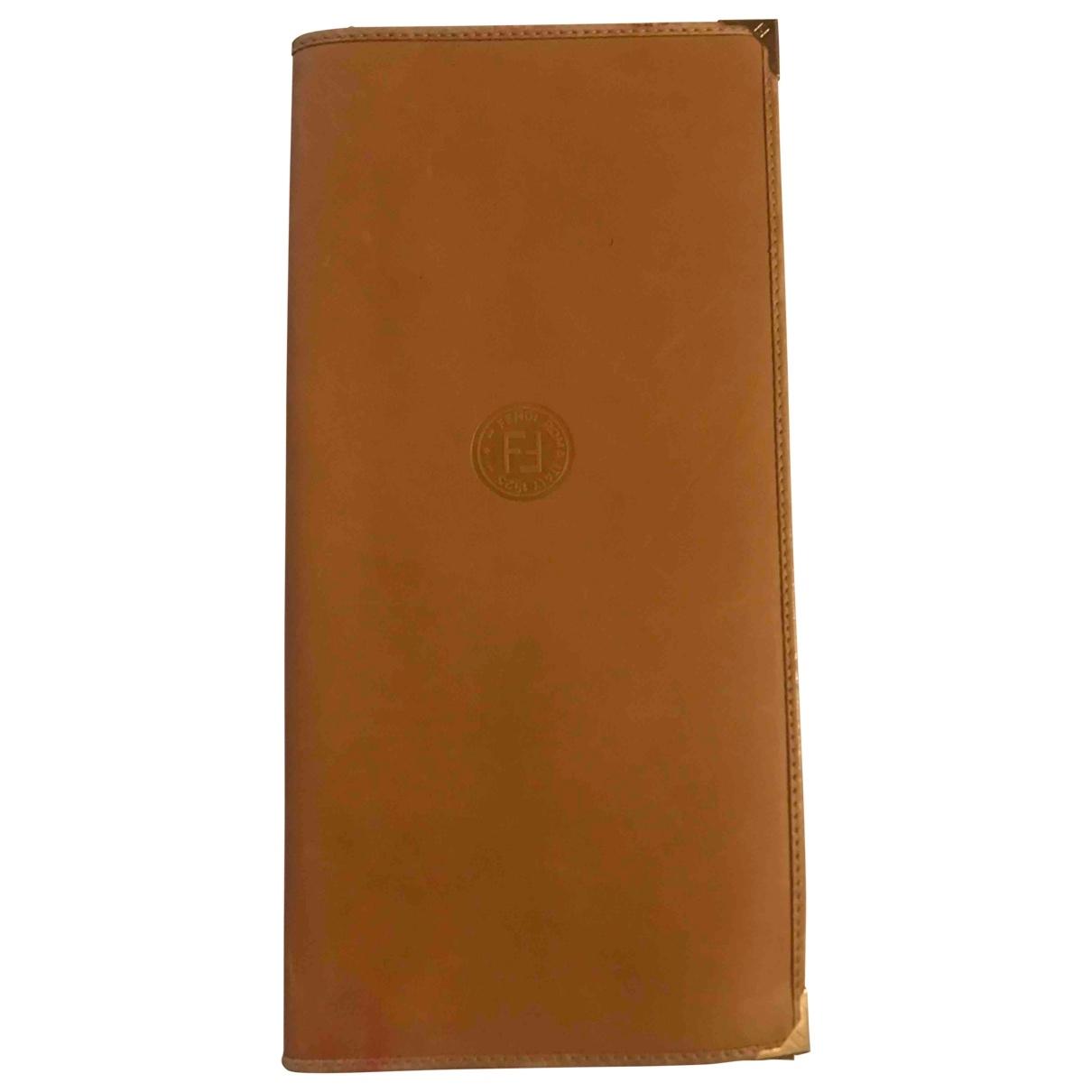 Fendi - Objets & Deco   pour lifestyle en cuir - beige