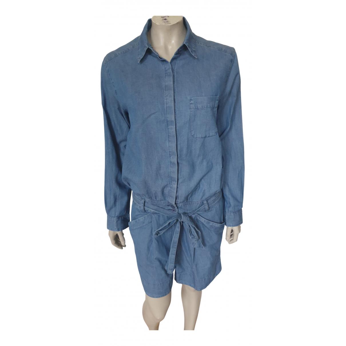 Claudie Pierlot Spring Summer 2019 Blue Cotton jumpsuit for Women 1 0-5