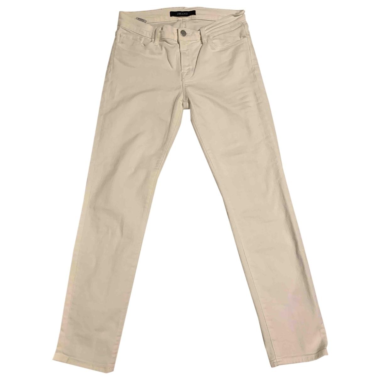 J Brand \N White Denim - Jeans Jeans for Women 27 US