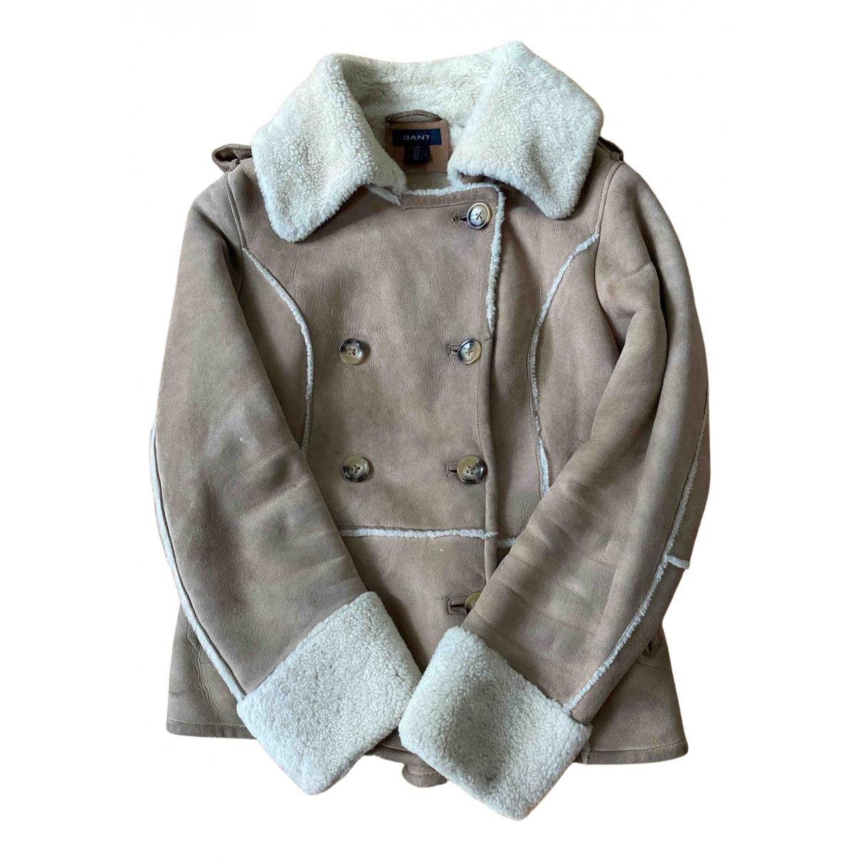 Gant - Veste   pour femme en laine - beige