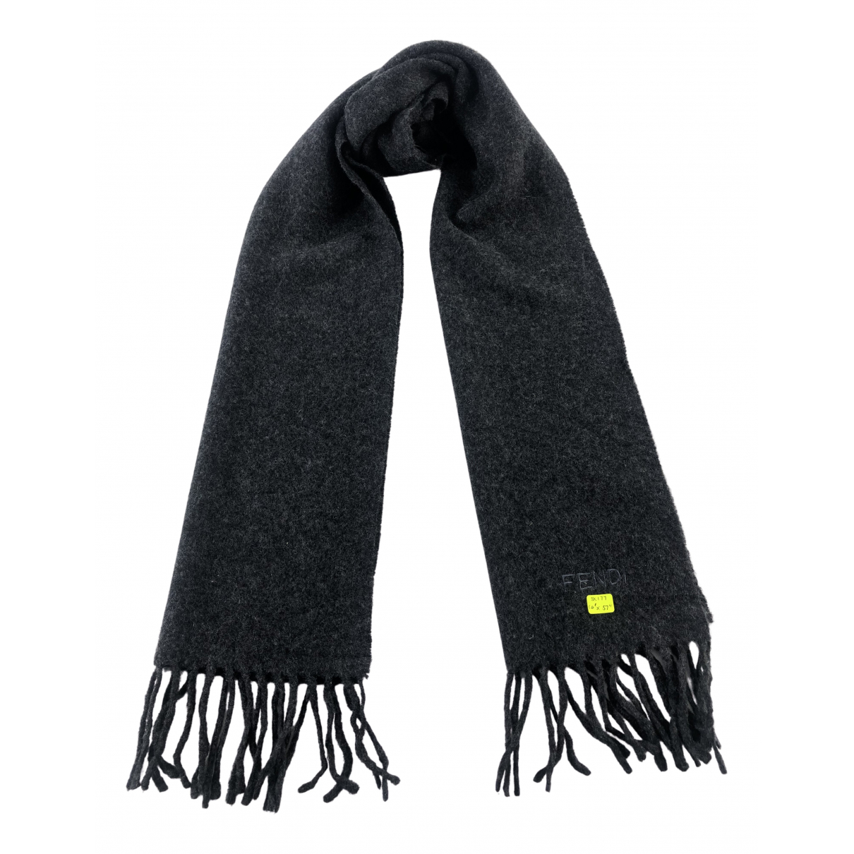 Fendi N Grey Wool scarf & pocket squares for Men N